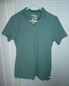 New without Tags Greys Anatomy EDGE Green Color Scrubs Small Top NEW