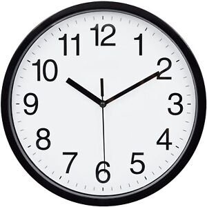 Large Wall Clock Oversized Living Room Silent Decorative Home Modern Big Office $14.99