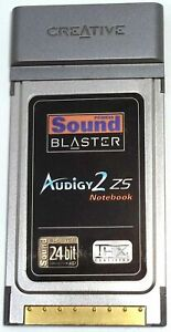 CREATIVE PCMCIA SOUND BLASTER AUDIGY2 ZS NOTEBOOK SOUND CARD MODEL SB0530 $28.99