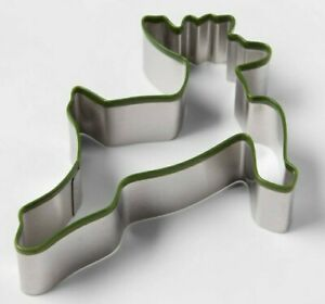 Stainless Steel Metal Silicone Trim Reindeer Christmas Cookie Cutter $5.89