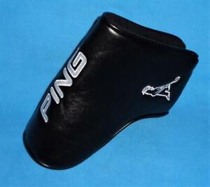Ping PingMan Blade Putter Cover Black White * NEW * Headcover $39.99