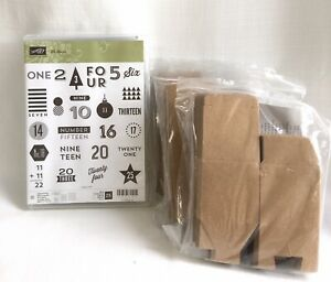Stampin Up NEW 25 Days Photopolymer Stamp Set 3 packs Tiny Treat Boxes $45.00