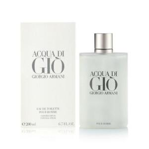 Giorgio Armani Acqua Di Gio 6.7 Oz Cologne Spray Men Edt Brand New Sealed In Box $57.00