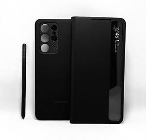 Original Samsung Official Galaxy S21 Ultra 5G Smart Clear View Cover with S Pen $49.95