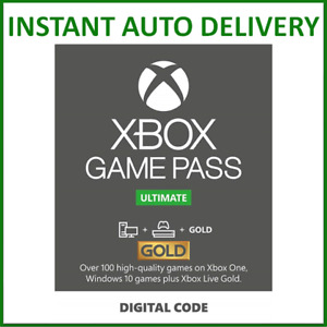 Xbox Live Gold Game Pass Ultimate Membership 1 2 3 6 12 Month 7 14 Days GBP 12.99