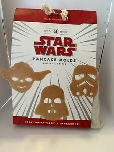 Star Wars Pancake Molds New William Sonoma