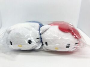 Lootcrate Sanrio Exclusive Hello Kittyamp;Dear Daniel Mamepuchi Tsum Tsum Plush Set