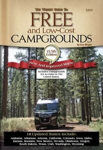 The Wright Guide to Free and Low Cost Campgrounds: Includes Campground… $19.10