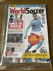 World Soccer May 2021 Phil Foden Barcelona 25 players to watch this Summer GBP 10.00