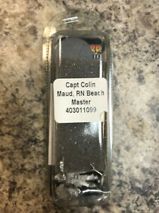 Capt Colin Maud RN Beach Master Bolt Action WWII Warlord Games Models New