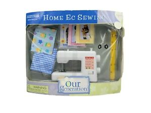 Our Generation Dolls Home Ec Sewing Set American Girl Sewing Patterns Super Rare $79.99