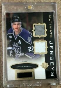 2013 14 Ultimate Collection Ultimate Jerseys #UJ LR Luc Robitaille C $5.00
