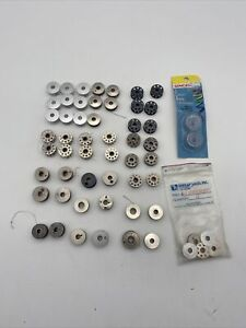 Sewing BOBBIN LOT 54 Pieces from Various Sizes $18.00