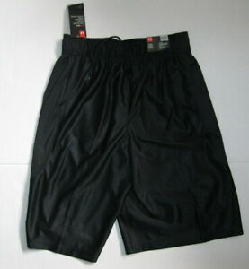 New Under Armour Shorts Mens Size Small Black Perimeter Athletic Shorts 11'' $29.95