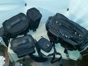 Assorted Camera Bags. Lot Of 4. 3 Great Condition 1 vintage