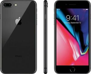 Apple iPhone 8 Plus 64GB Space Gray Factory Unlocked Very Good Condition $249.99