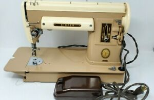 Vintage* Singer Sewing Machine 301a With Accessories And Case $99.99