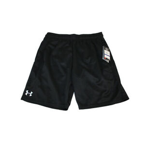 Under Armour Shorts Mens XL Black Heat Gear new with tags $21.95