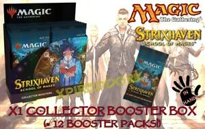 Strixhaven COLLECTOR Booster Box NEW SEALED MAGIC MTG IN HAND $230.00