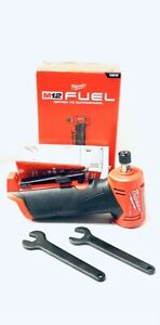 Milwaukee 2485 20 M12 FUEL Right Angle Die Grinder New $137.99