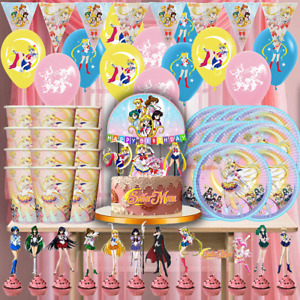ANIME SAILOR MOON cupcake toppers Birthday Party Decoration Supplies cake