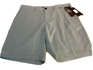 """NEW Hurley Nike Dri Fit Shorts Men's Size 32 Length 19"""" Trunks Layover $30.00"""