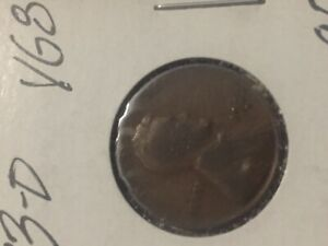 1933 D COPPER PENNY Lincoln cent