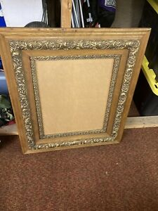 2 Solid Wood Molded Ornate Frames for 16quot; x 20quot; Print Canvas 27quot; x 31quot; $80.00