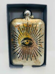 The Sneerwell Flash Company The Eye of Providence Noble Flask 6oz