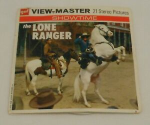 1956 View Master The Lone Ranger Showtime Picture Reels with Booklet $24.99