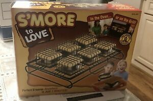 Smores Maker Indoor Outdoor Kit Great for the Grill Smore to Love