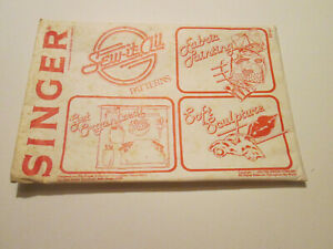 Vintage Singer Sew It All Patterns 1978 Fabric Painting Soft Sculpture Get Organ