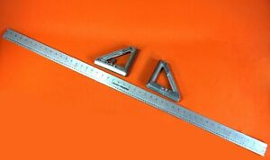 Welding Fab Layout Cutting Magnetic Angle Burning Guide 48quot; Straight Edge USA $12.50