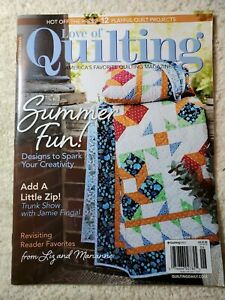 Fons amp; Porter#x27;s ☆ quot;LOVE OF QUILTINGquot; Magazine ☆ May June 2021 ☆ Quilt Projects $7.90
