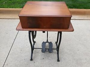 Antique Wheeler amp; Wilson treadle sewing machine. No shipping local pick up only $300.00