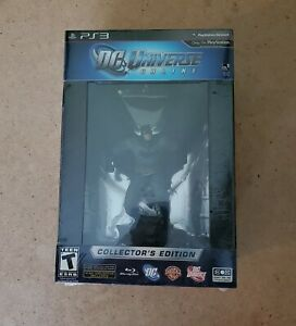 DC Universe Online Collector#x27;s Edition PS3 FACTORY Sealed