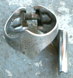 Vintage Campagnolo #627 Chrome Clamp On Right Cable Guide Downtube 28.6 $29.99