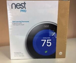 Nest 3rd Generation Learning Stainless Steel Programmable Thermostat Pro NEW