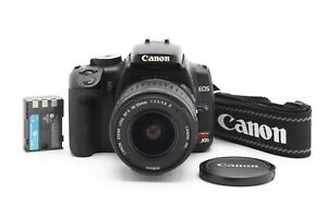 Very Clean Canon EOS Rebel XTi DSLR Camera with 18 55mm f3.5 5.6 II Lens #34782