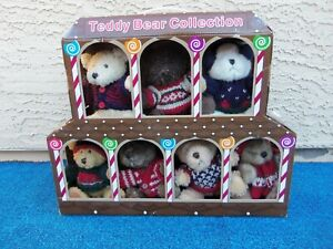 Vintage Teddy Bear Winter Costco Plush Toy Collection