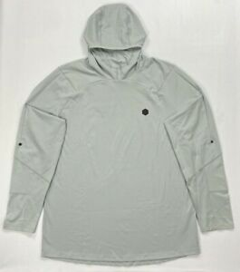 Mens Under Armour Cold Gear Rush FITTED Length Sleeve Hooded Shirt Size 3XL $49.99