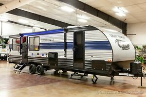 New 2021 Forest River Cherokee Grey Wolf 26MBRR Travel Trailer Toy Hauler Sale $25499.00