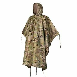 Military Army Tactical Poncho W P20000mm Military Grade Waterproof Material $33.90