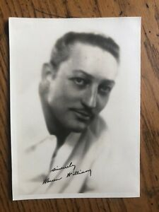 """WARREN WILLIAM """"signed� 5x7 Photo PRE CODE Hollywood $10.00"""