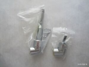 Two Chrome Sets of Two Right Angle Hex Drill Adapters Socket Holders $18.17