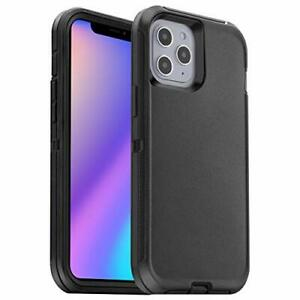 Cober Funda Para iPhone 12 Pro Max Shockproof Dropproof Dust Proof Color Negro $17.17