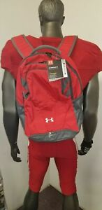 UNDER ARMOUR HUSTLE BACKPACK RED XSTORM PADDED LAPTOP SLEEVE 1306060 $35.95