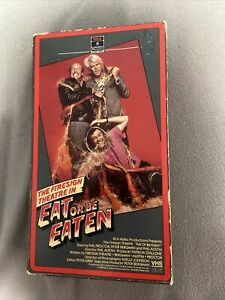 The Firesign Theatre Eat Or Be Eaten VHS Phil Proctor Peter Bergman movie tape $28.50