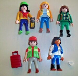 PLAYMOBILPeople Lot Outdoors Travel Types