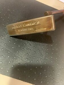 Scotty Cameron TEI3 Newport Two Right Handed Putter Steel $450.00